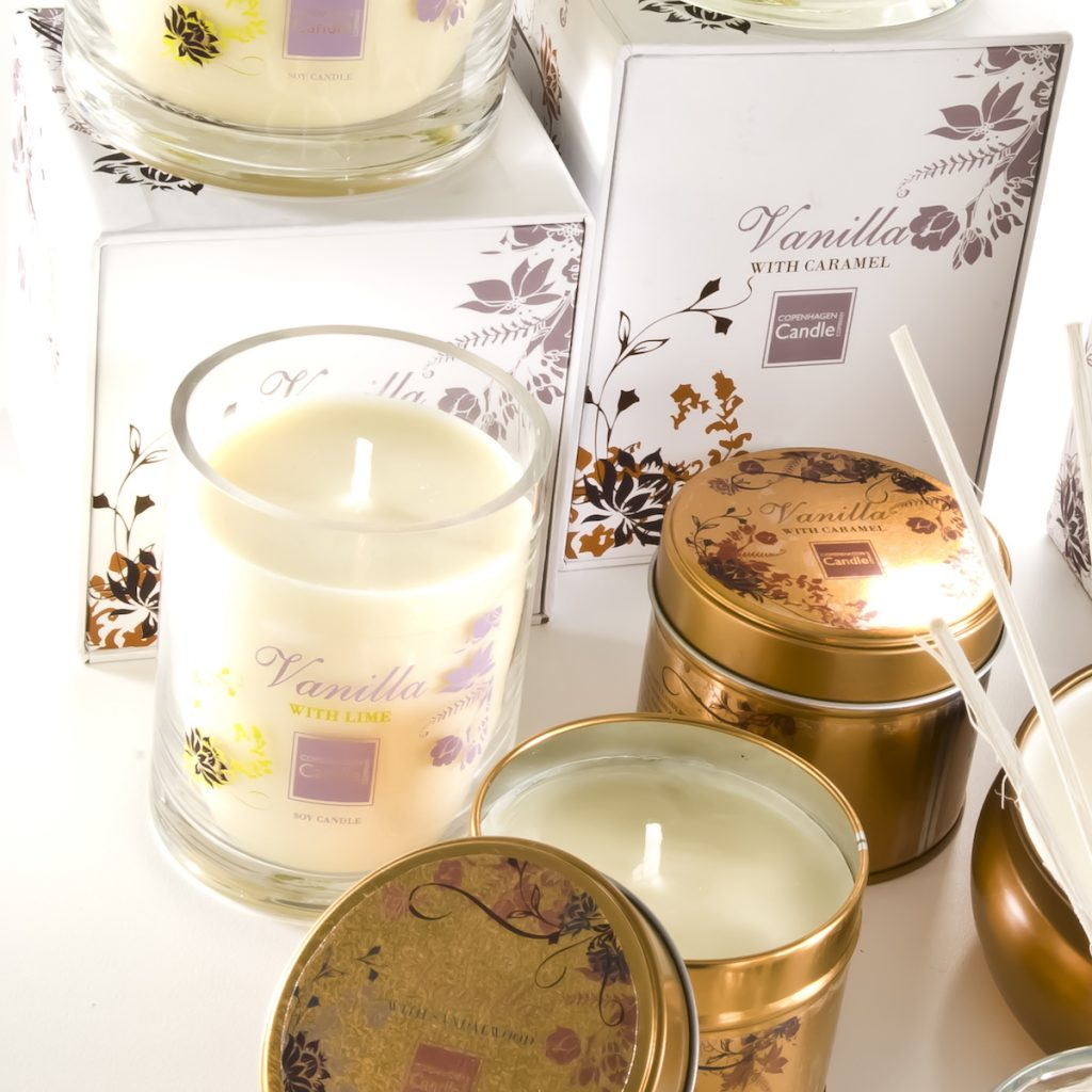 CC Vanille Kerzen Serie