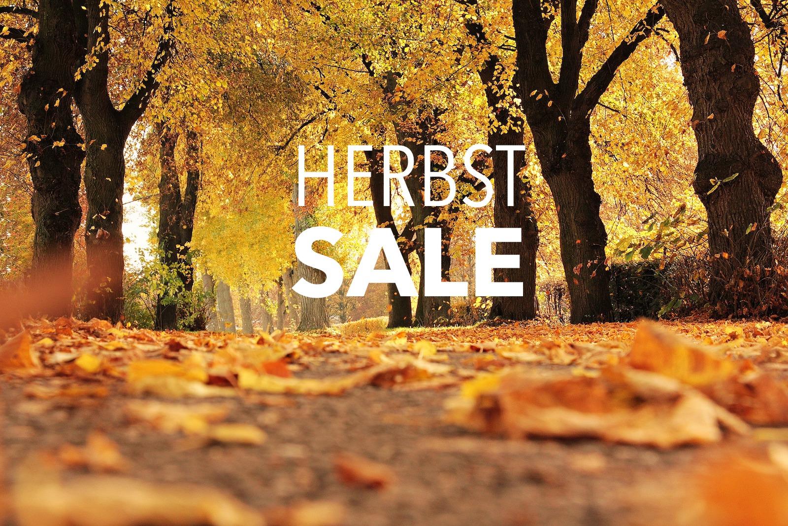 Herbst Sale 2017